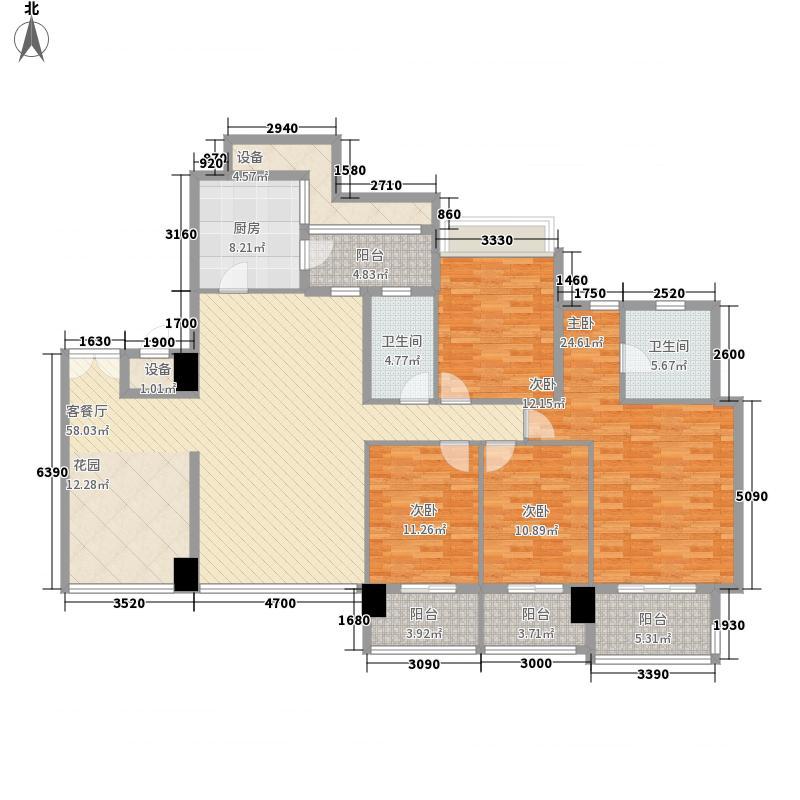 凯旋门180.00㎡凯旋门户型图3座01单元(4、6、8、10、12、14、16、18层)4室2厅2卫1厨户型4室2厅2卫1厨