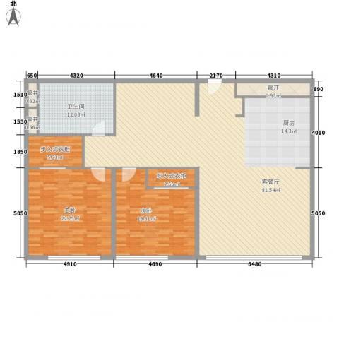 新地国际公寓苏寓2室1厅1卫0厨203.00㎡户型图