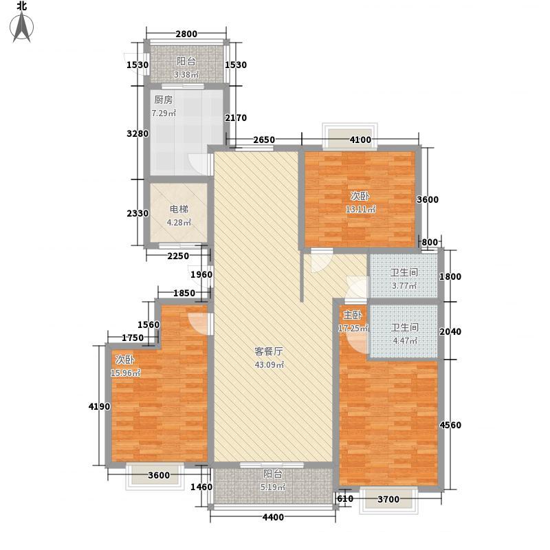 太原礼顿山162.02㎡太原礼顿山户型图12#-52室2厅2卫1厨户型2室2厅2卫1厨