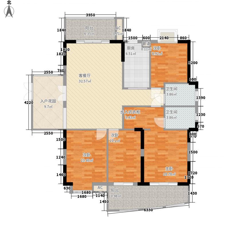 福州 摩卡生活馆 户型图 5#楼301