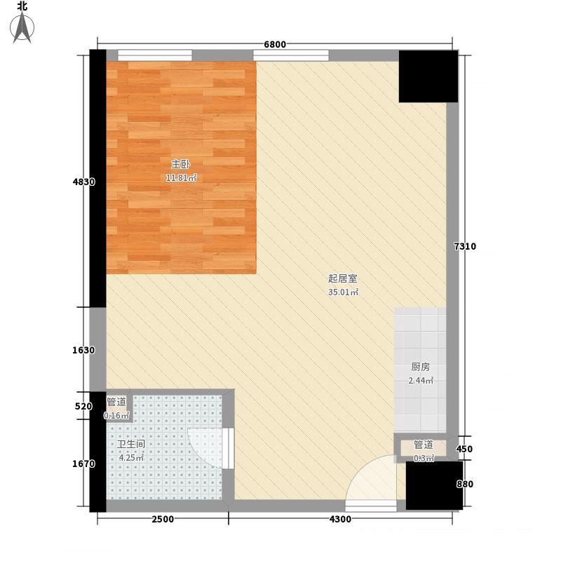 升龙天汇广场二期公寓户型
