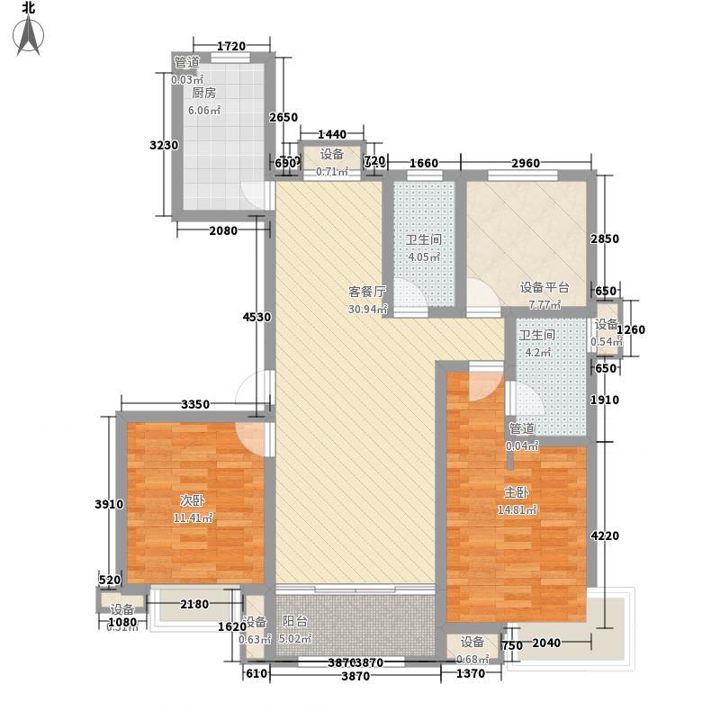 领秀・珊瑚湾高层68#E3户型