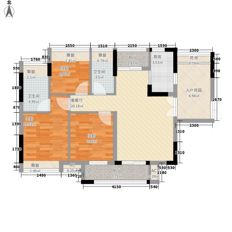 七宝一居103.00㎡七宝一居3室户型3室