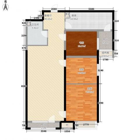 百合佳苑3室1厅1卫1厨147.00㎡户型图