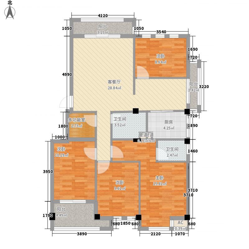 新仓山洋楼138.00㎡17#01、06户型4室2厅2卫1厨