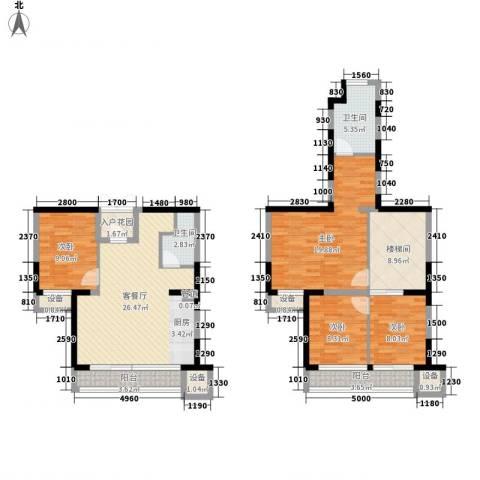 荣禾城市理想4室1厅2卫0厨111.00㎡户型图