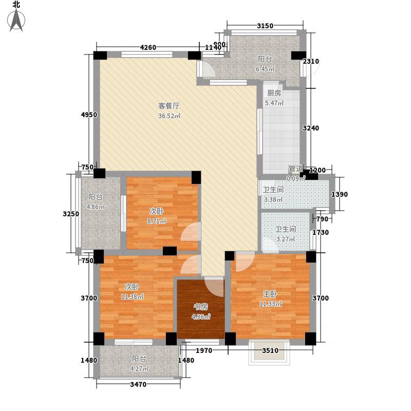 金色康城金色康城户型图4室2厅2卫1厨户型10室