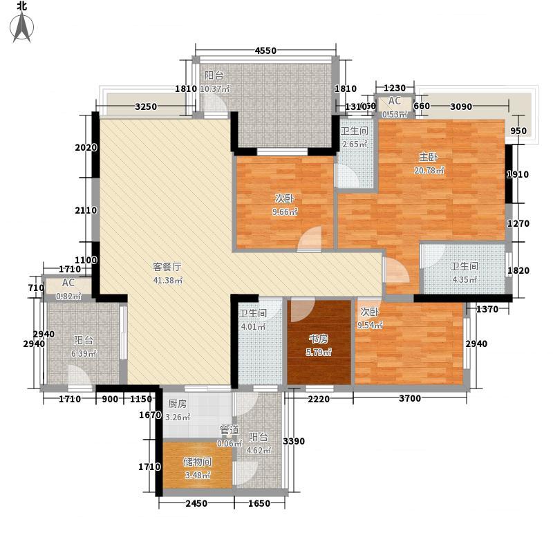 帝景蓝湾134.00㎡帝景蓝湾户型图134平方米3室2厅3卫户型3室2厅3卫