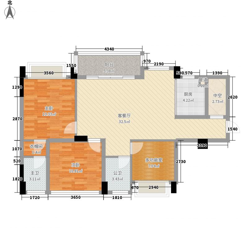 宏远新村68.00㎡宏远新村3室户型3室