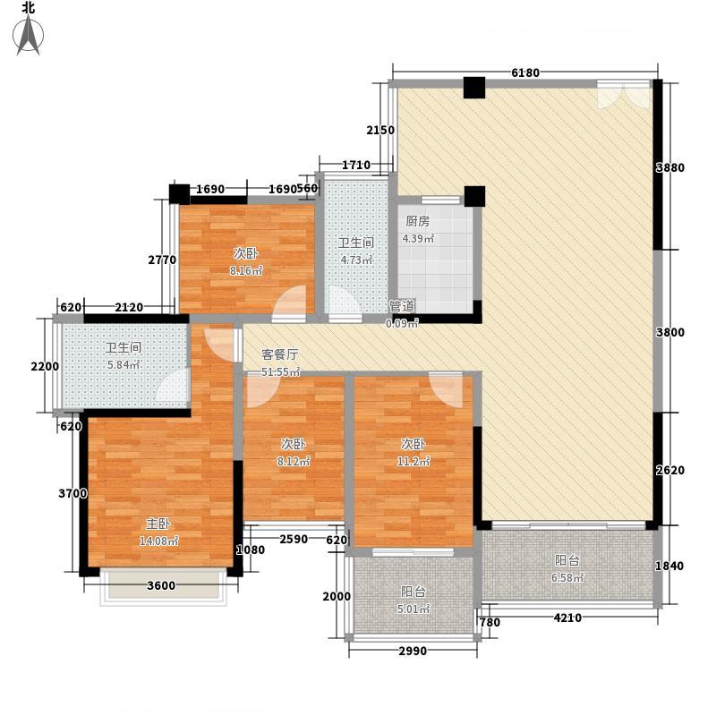 东港印象113.79㎡东港印象家园户型图B座B户型户型图3室2厅2卫户型3室2厅2卫