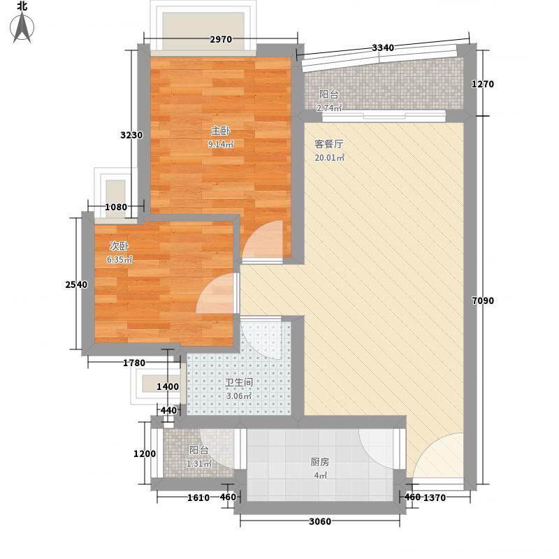 缤纷时代家园深圳缤纷时代家园户型图10户型10室