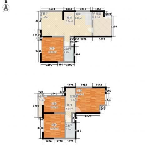 雪梨澳乡4室1厅2卫0厨109.98㎡户型图