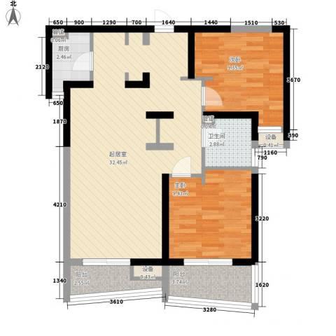 City Home 私享家2室0厅1卫1厨93.00㎡户型图