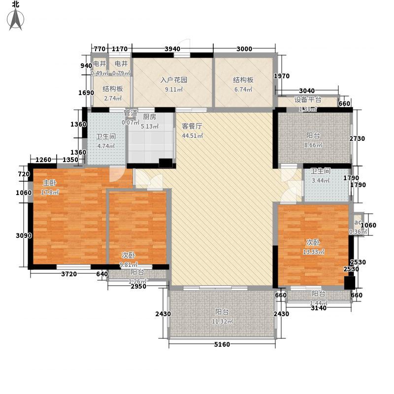 南光城市花园15.00㎡南光G户型3室2厅