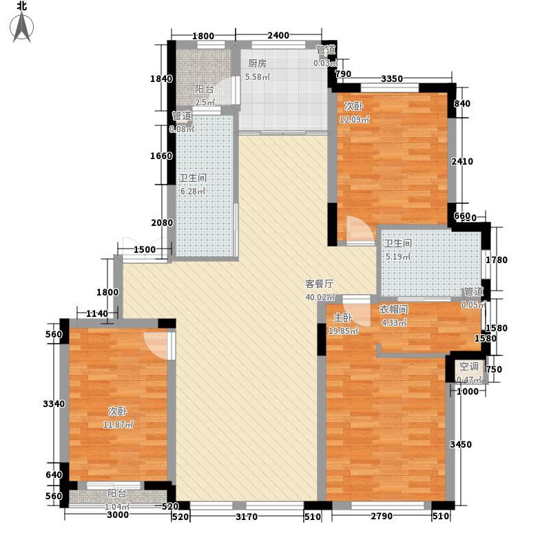 倚澜观邸二期136.00㎡倚澜观邸二期户型图G户型图3室2厅2卫户型3室2厅2卫