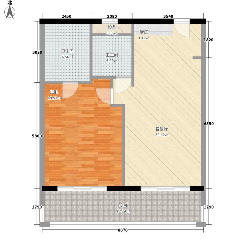 克拉码头103.00㎡克拉码头户型图04户型1室2厅2卫1厨户型1室2厅2卫1厨
