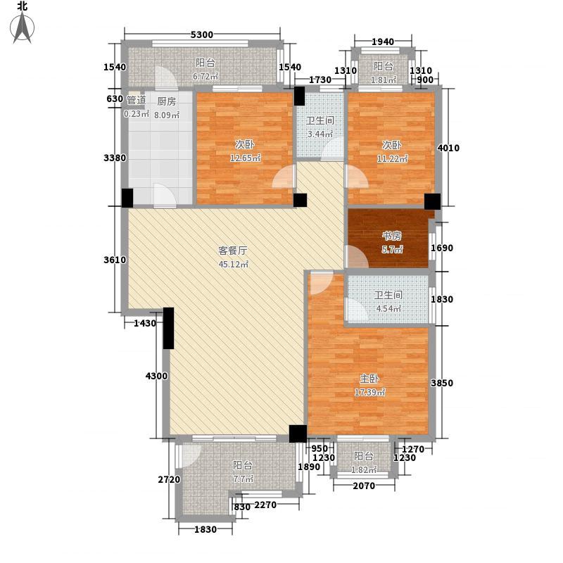 丰泰观山碧水花园丰泰观山碧水户型3室