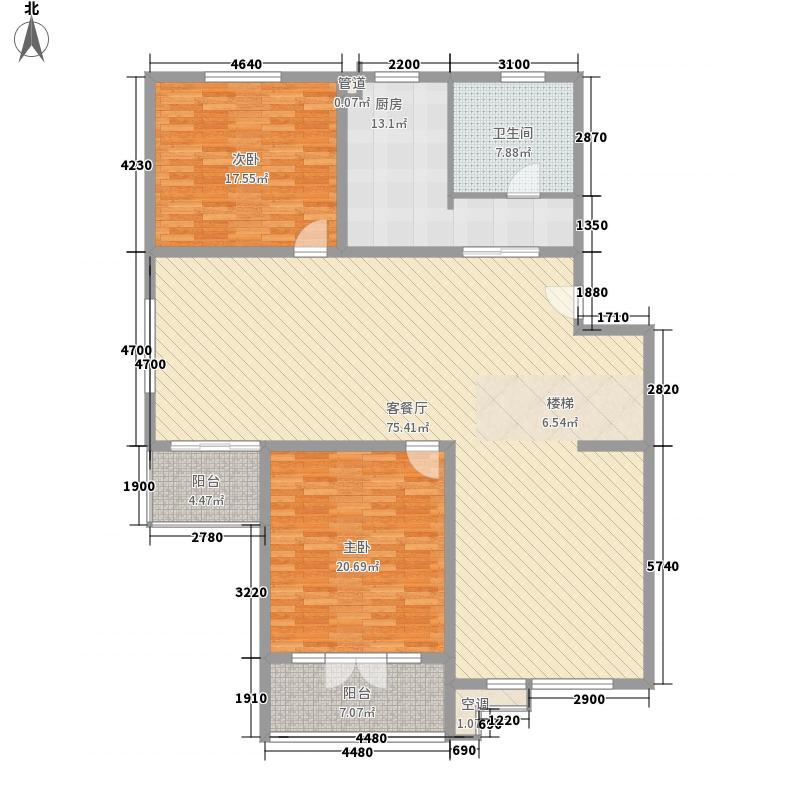 长春新苑204.00㎡长春新苑户型图2室2厅1卫1厨户型10室