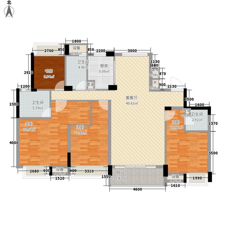 滨江万家星城滨江万家星城户型图二期7幢1单元02室奇数层Q1户型户型10室