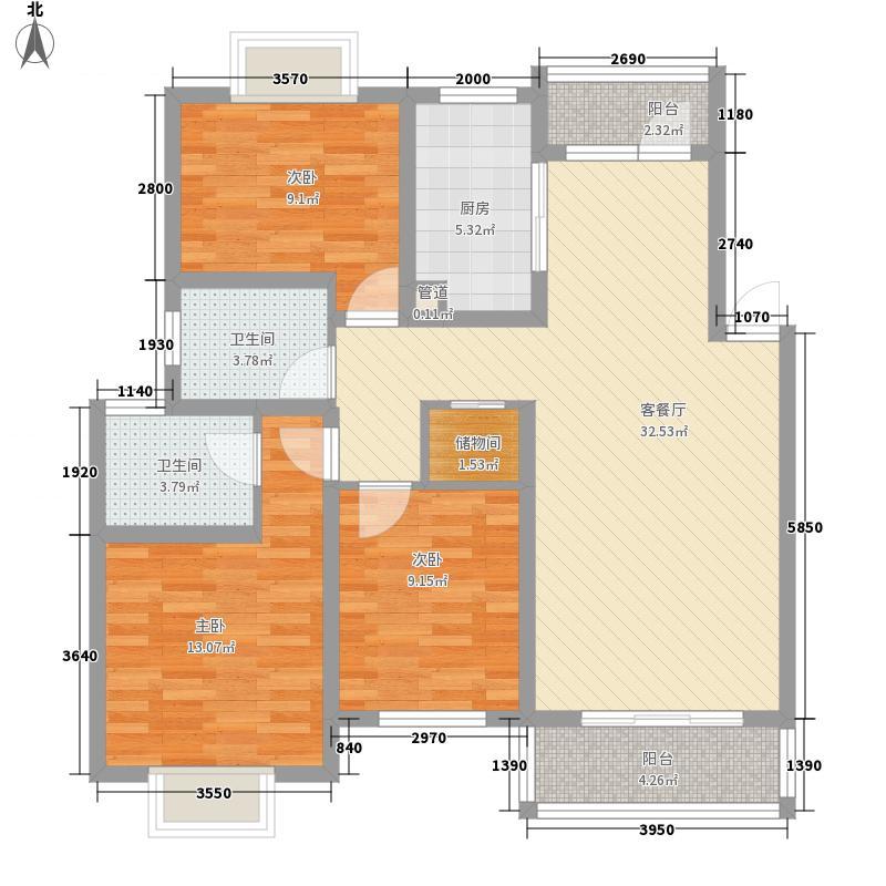 大江苑123.93㎡大江苑户型图户型图3室2厅1卫1厨户型3室2厅1卫1厨