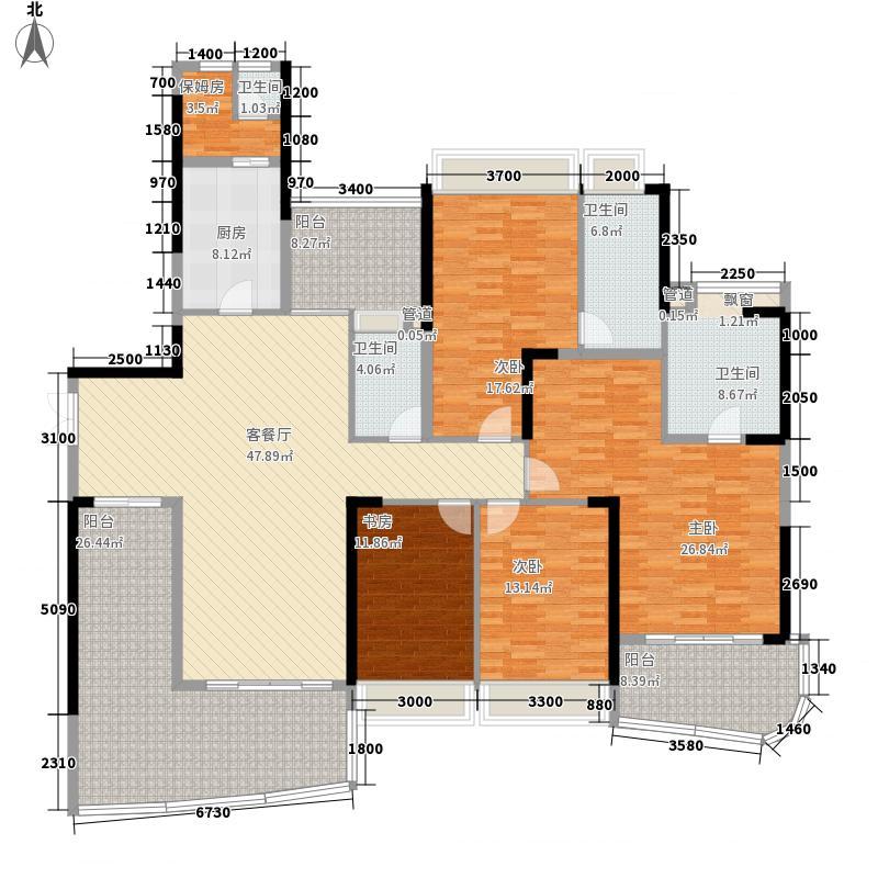 顺德雅居乐花园顺德雅居乐花园户型图A04户型10室