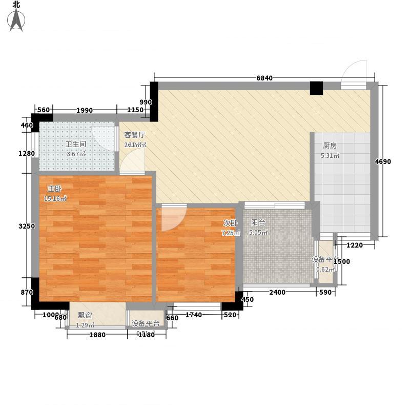 百丰花园3号楼2单元0户型