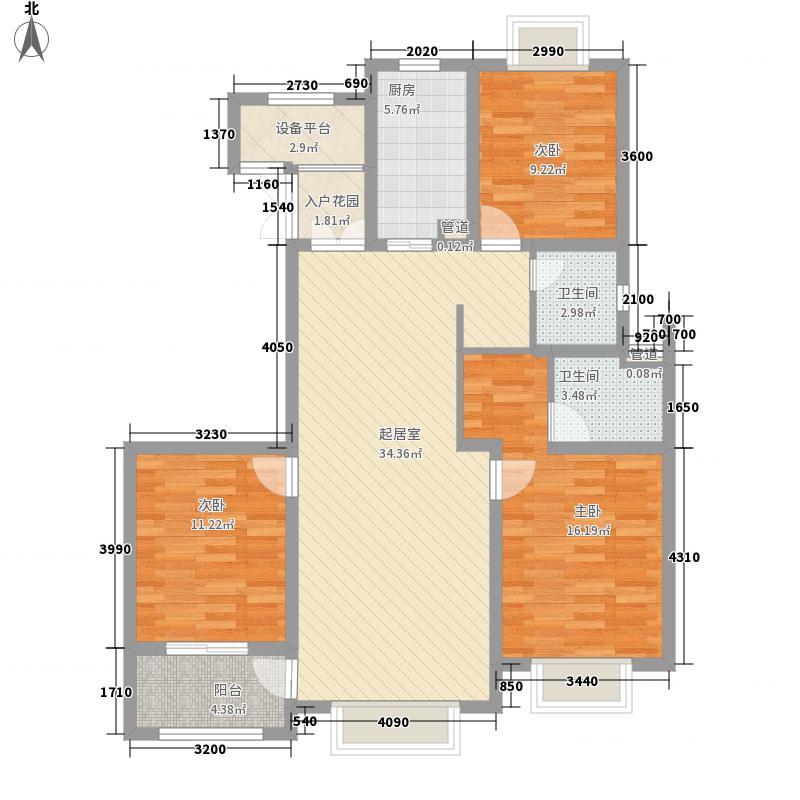 德诚翰景园136.00㎡德诚翰景园户型图11#楼02户型3室2厅2卫1厨户型3室2厅2卫1厨