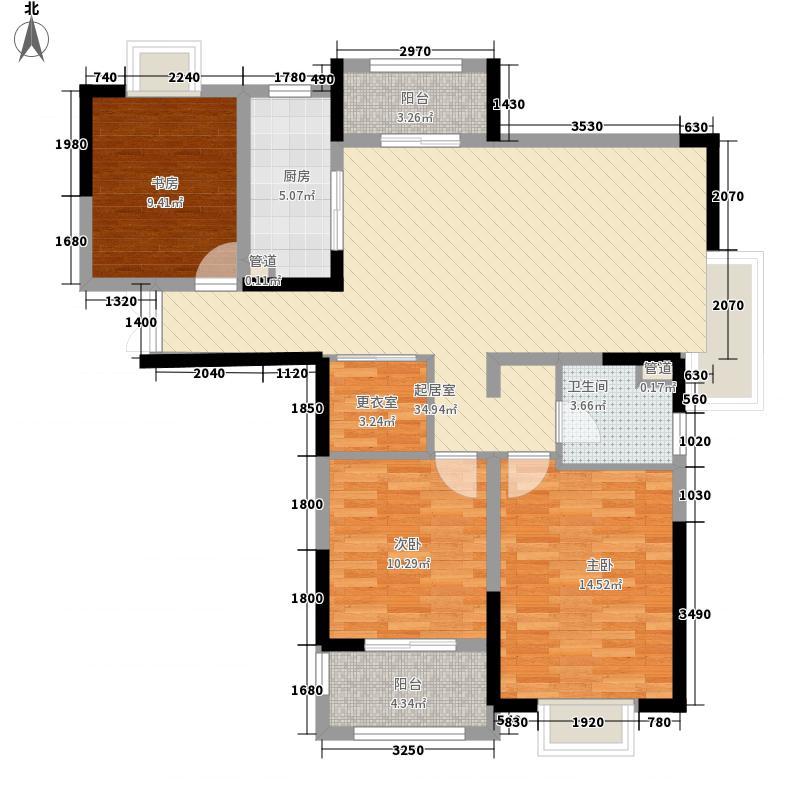 德诚翰景园128.00㎡德诚翰景园户型图10#楼J户型3室2厅1卫1厨户型3室2厅1卫1厨