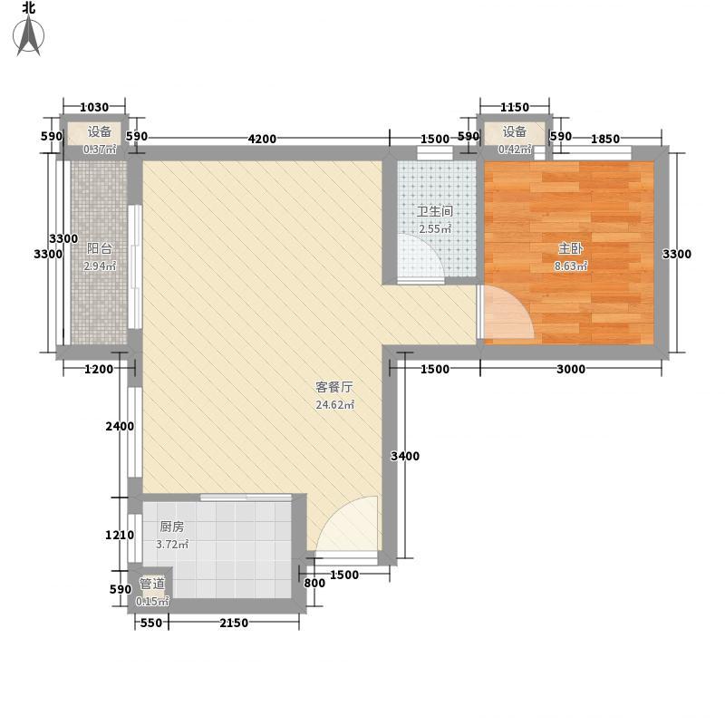 裕华嘉苑三期C-5户型10室
