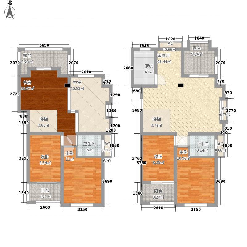 钱塘彩虹城182.00㎡29#楼809、90/30#楼81H6复式户型5室2厅2卫