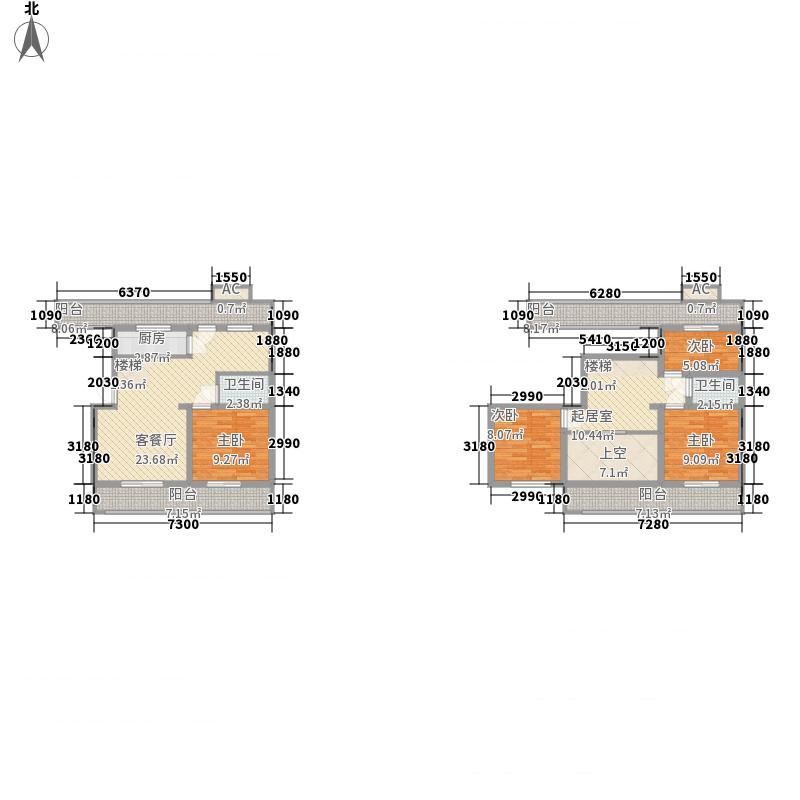 富贵国际花苑富贵国际花苑户型图B52(8-17-21)17059平米户型10室