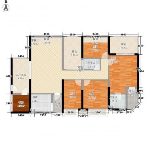 龙园8号5室1厅2卫1厨187.00㎡户型图