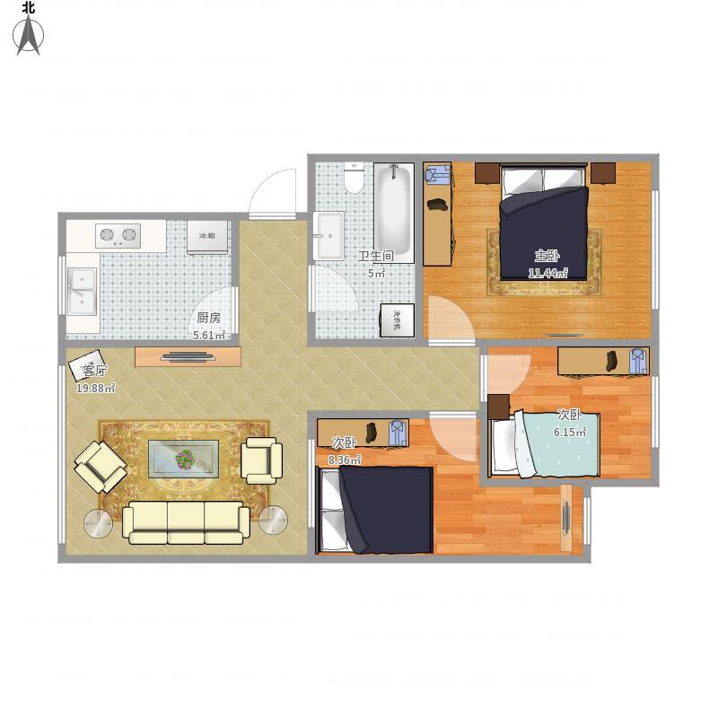 我的设计-公安局宿舍楼