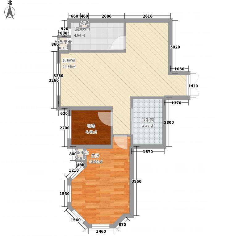 美好愿景79.00㎡美好愿景户型图B3户型2室2厅1卫户型2室2厅1卫