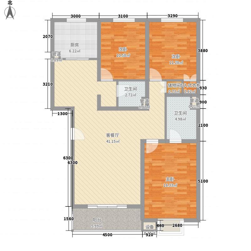 桥华世纪村豪华园桥华世纪村豪华园户型图桥华世纪村3-2-1-13室户型3室