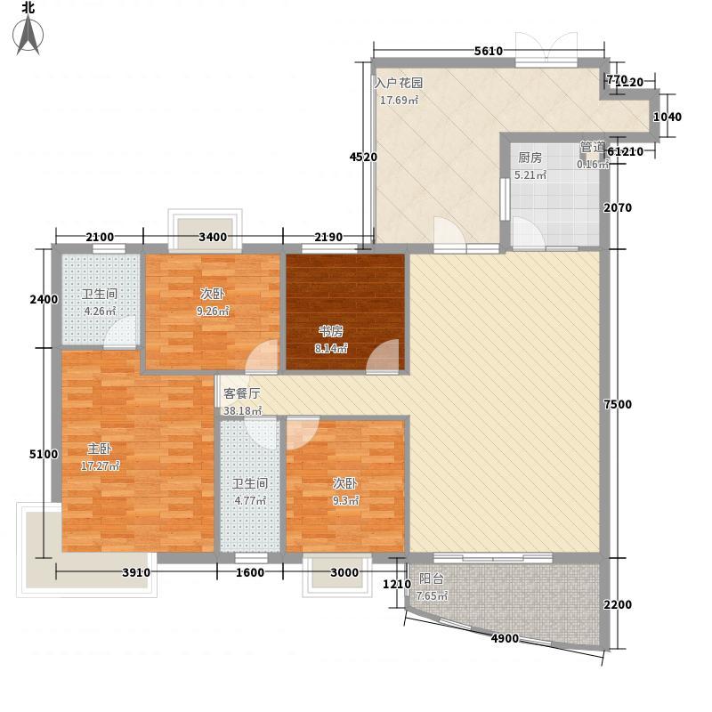 欣龙花园114.00㎡欣龙花园3室户型3室