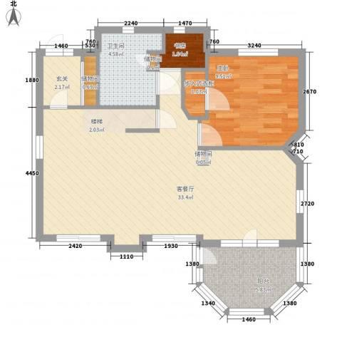 孔雀湖原乡国际假日基地2室1厅1卫0厨168.00㎡户型图