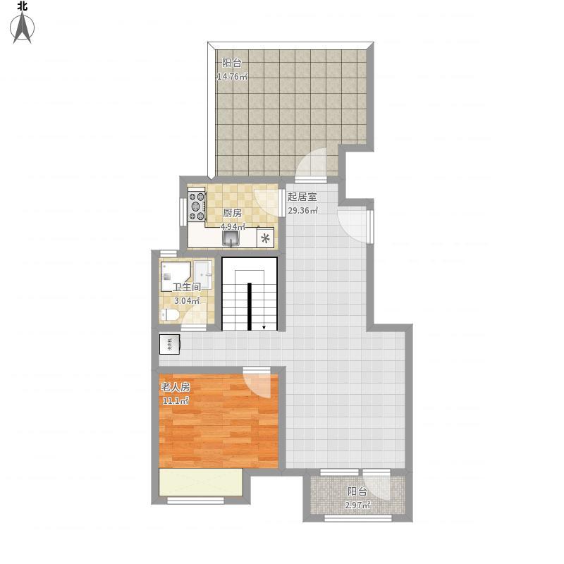 北京-金地朗悦A··底层-设计方案