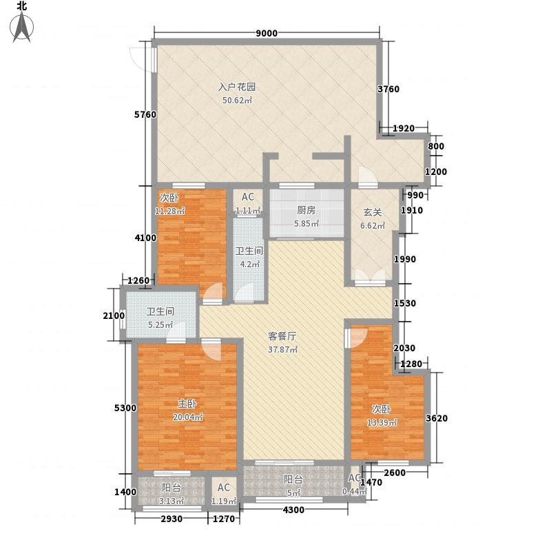 海德公园・都铎宫9-12#楼C23居户型
