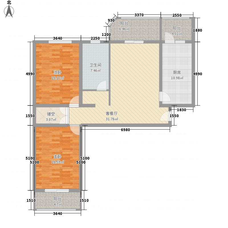 颐宁苑128.43㎡上海颐宁苑户型10室