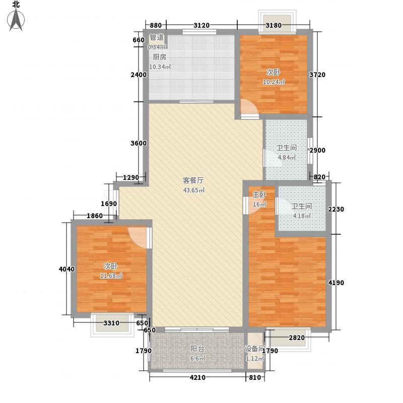 怡景园海棠明月滨江怡景园海棠明月户型图三房二厅3室2厅2卫1厨户型3室2厅2卫1厨