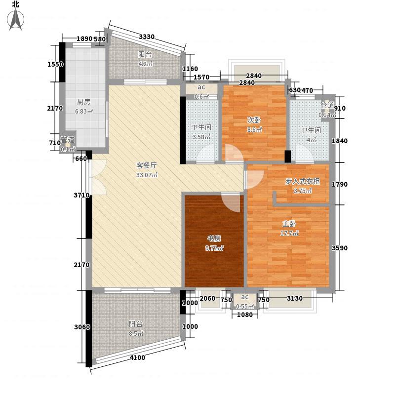 三水雅居乐花园三水雅居乐花园户型图K1-03、04户型10室
