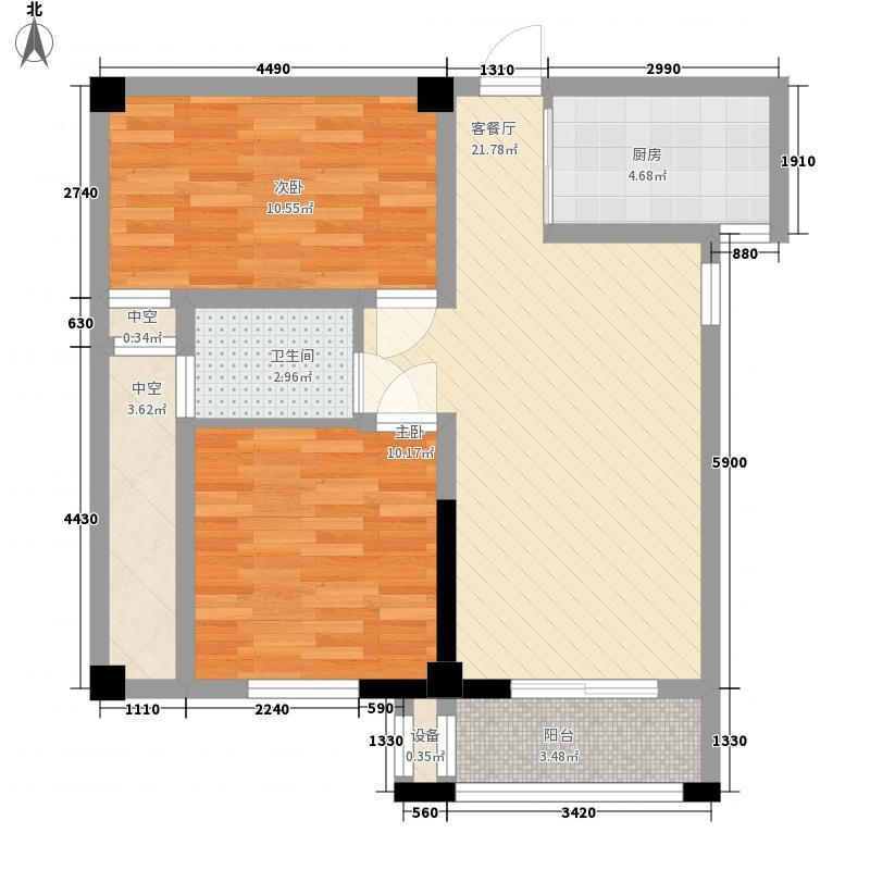 大富绿洲92.39㎡大富绿洲户型图12#03/09户型2室2厅1卫1厨户型2室2厅1卫1厨