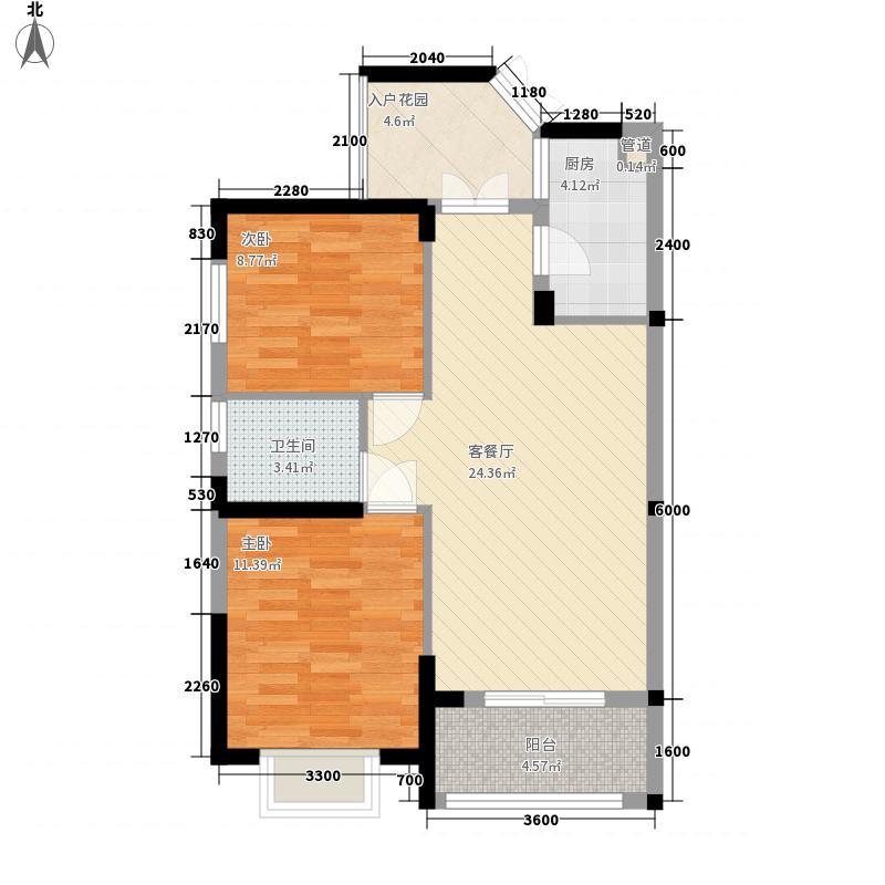 南国威尼斯城78.36㎡南国威尼斯城户型图13/15栋楼0304号房户型图2室2厅1卫户型2室2厅1卫