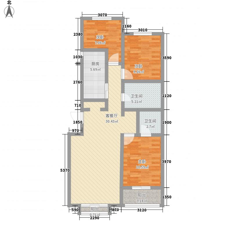 金峰帝景113.92㎡金峰帝景户型图B户型3室1厅2卫1厨户型3室1厅2卫1厨