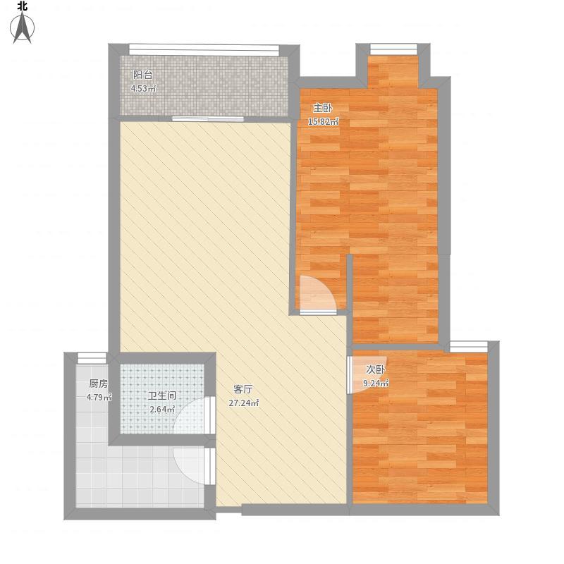 武汉-6栋2单元1404-设计方案