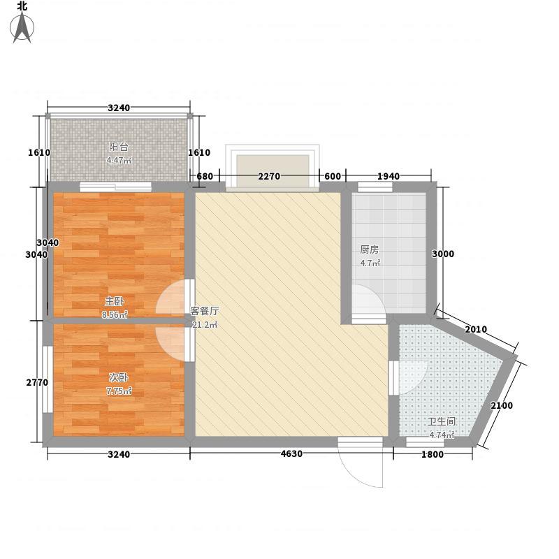 汇泽・蓝海湾户型图A-2