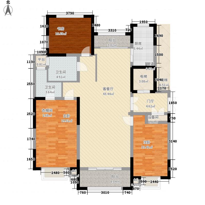 威高・乾和院173.00㎡威高・乾和院户型图平层府邸B户型3室2厅2卫1厨户型3室2厅2卫1厨