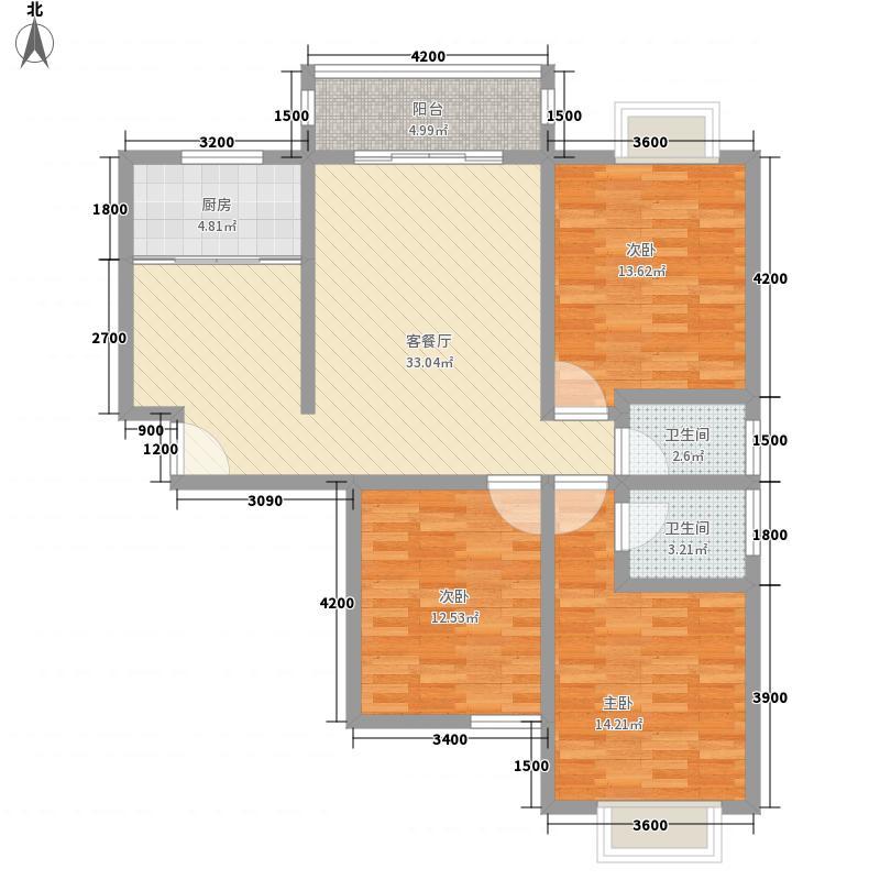 水塔社区130.00㎡水塔社区3室户型3室