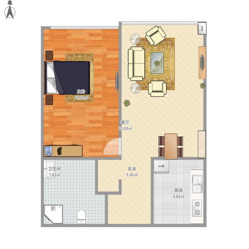 天津-昆仑中心14户型-设计方案
